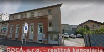 Nájom komerčných priestorov Košice – centrum, ul.Alvinczyho