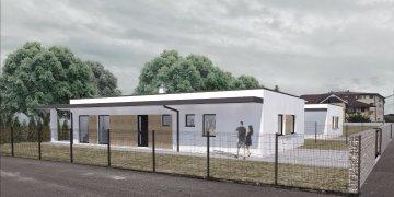 2 x novostavba bungalov so strešnou záhradou Sobrance